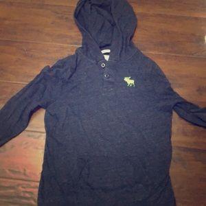 Boys long sleeve hoodie